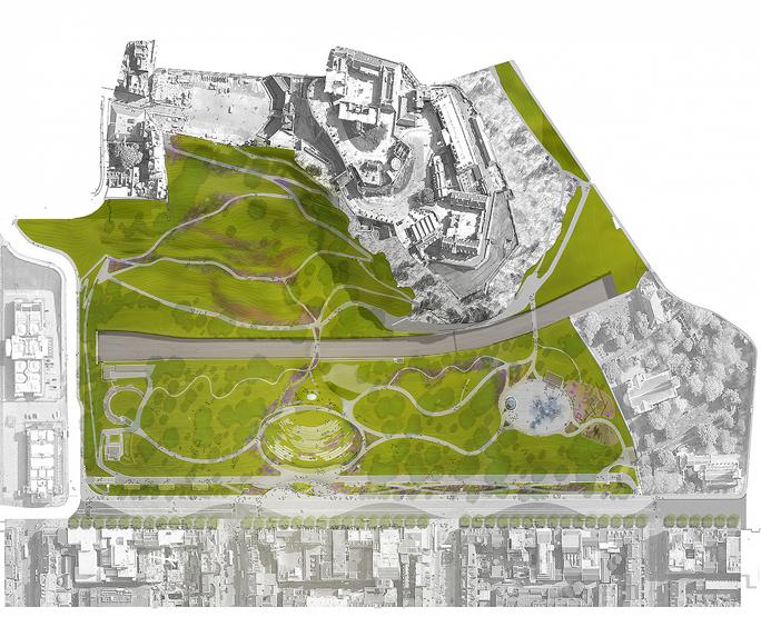 wHY chosen to complete Landmark Ross Pavilion next to Edinburgh Castle