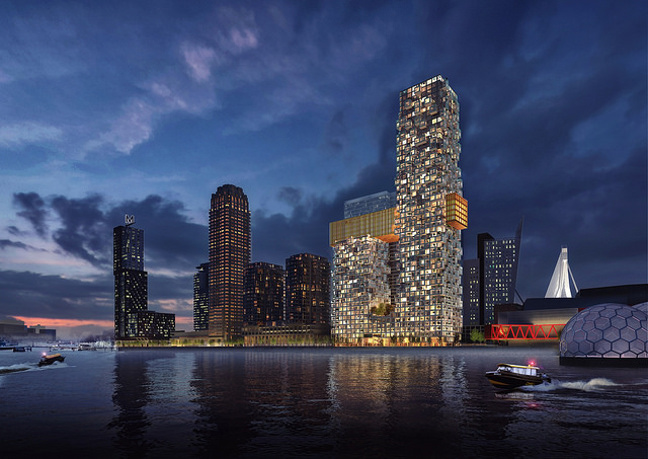 MVRDV won the competition for The Sax