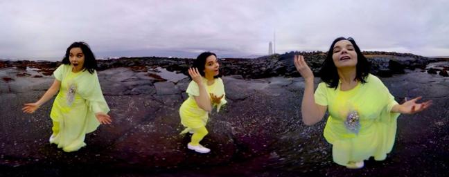 Björk Digital. Virtual Reality Exhibition