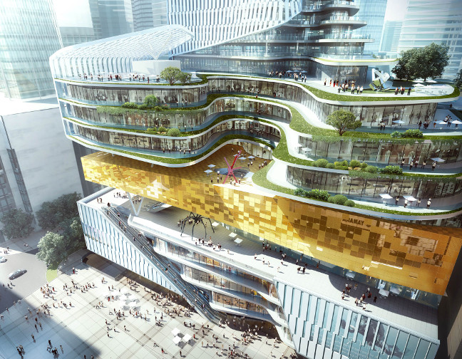 Jiefangbei Book City Mixed-Use Project