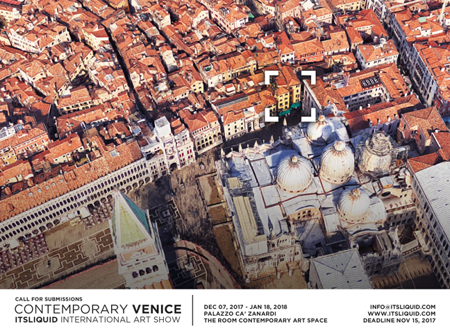 Call for submissions contemporary venice 2017 itsliquid for Venice craft fair 2017