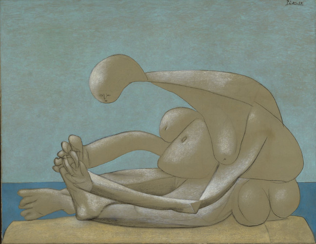 PICASSO. On the Beach