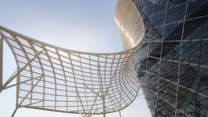 Capital gate ADNEC