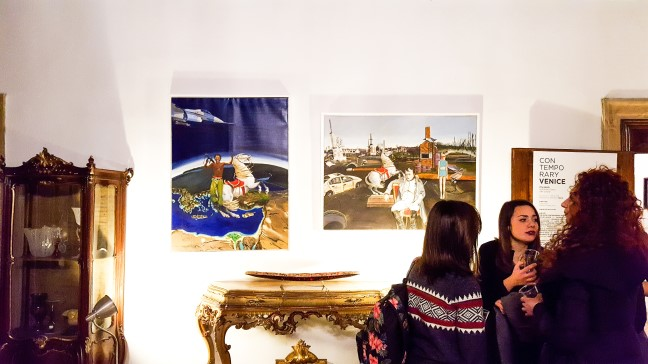 Feedback release: CONTEMPORARY VENICE - ITSLIQUID International Art Show at Palazzo Ca' Zanardi