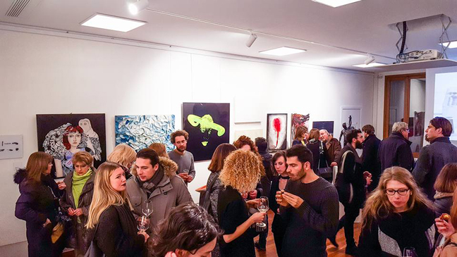 OPENING: CONTEMPORARY VENICE - ITSLIQUID International Art Show at THE ROOM