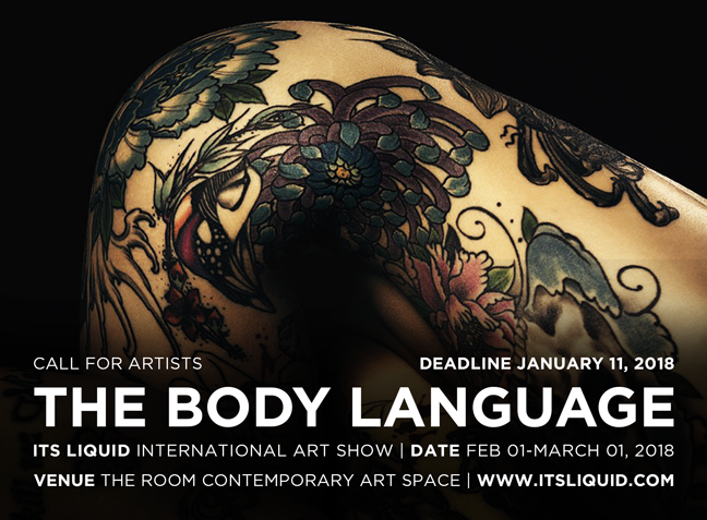 CALL FOR ARTISTS: THE BODY LANGUAGE - ITSLIQUID International Art Show