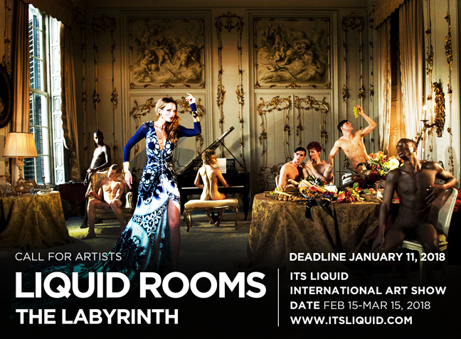 CALL FOR ARTISTS: LIQUID ROOMS - THE LABYRINTH