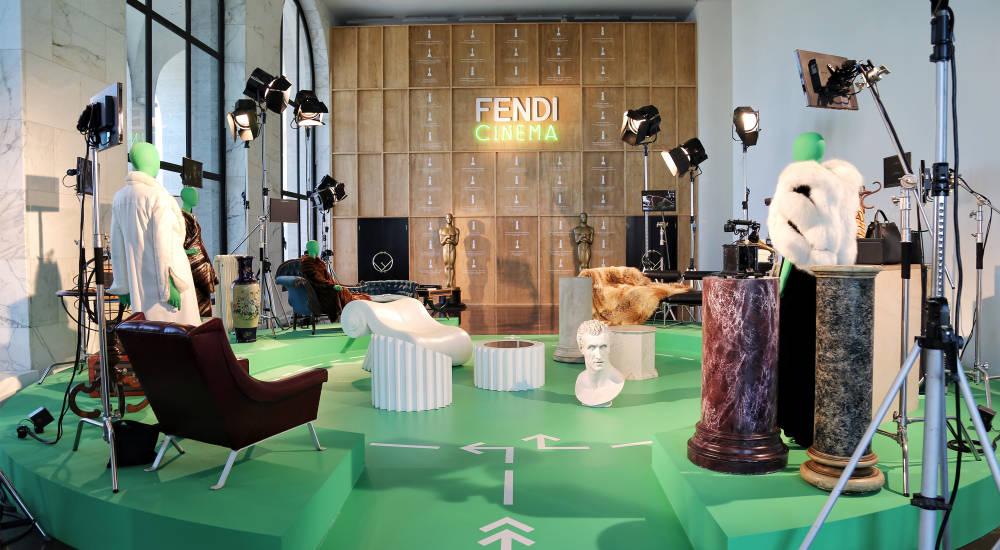 Fendi Studios at the Palazzo Della Civiltà Italiana