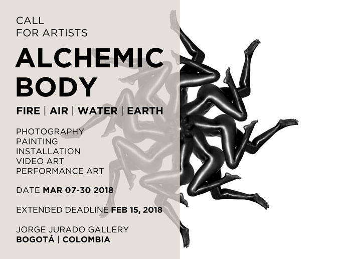 CALL FOR ARTISTS: ALCHEMIC BODY | FIRE . AIR . WATER . EARTH - Extended deadline