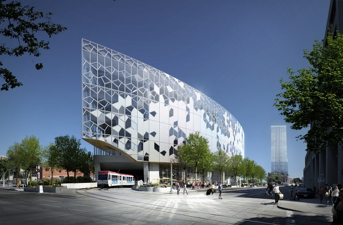 Calgary's New Central Library and Library Plaza