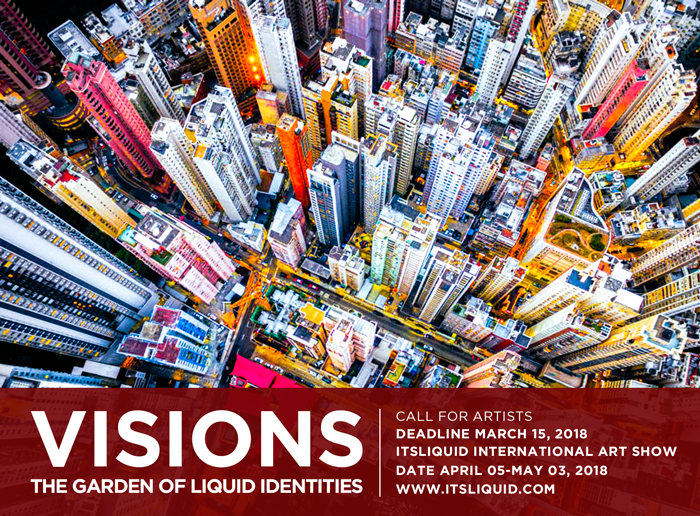CALL FOR ARTISTS: VISIONS - THE GARDEN OF LIQUID IDENTITIES