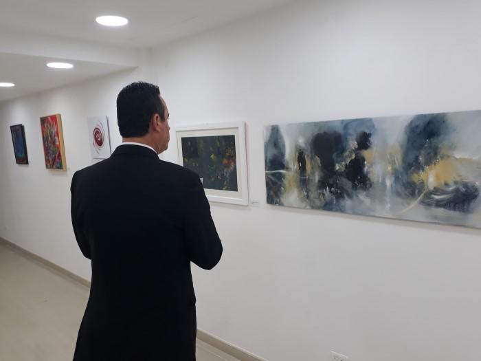 Exhibition opening of ALCHEMIC BODY on November 01, 2017