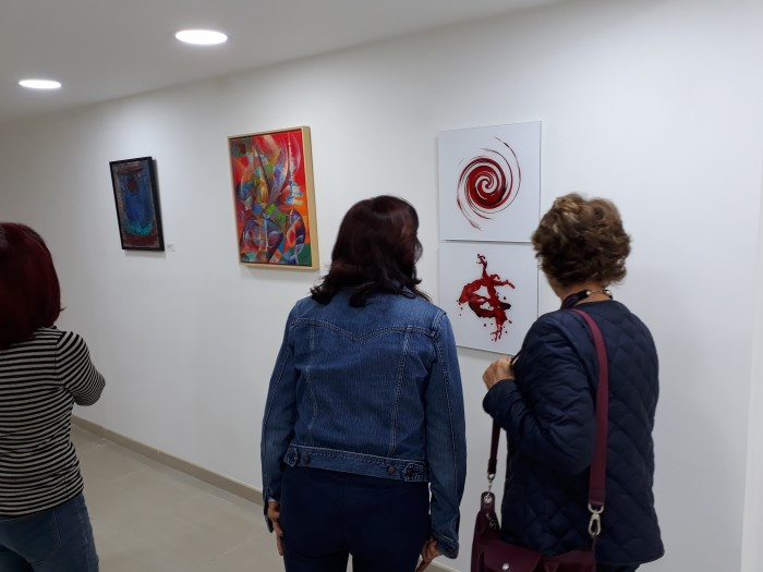 Exhibition opening of ALCHEMIC BODY on November 01, 2017