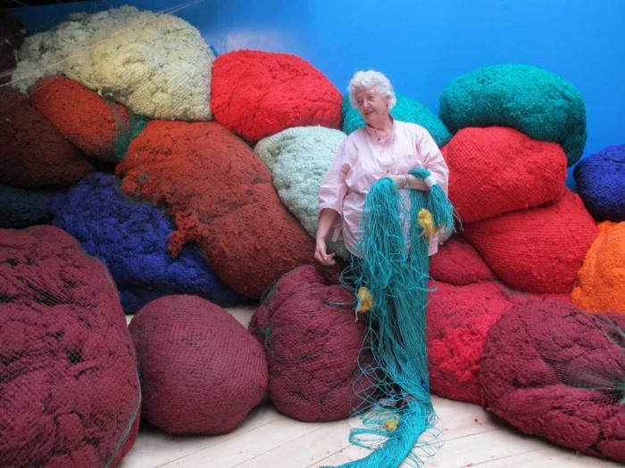 Sheila Hicks at Centre Pompidou