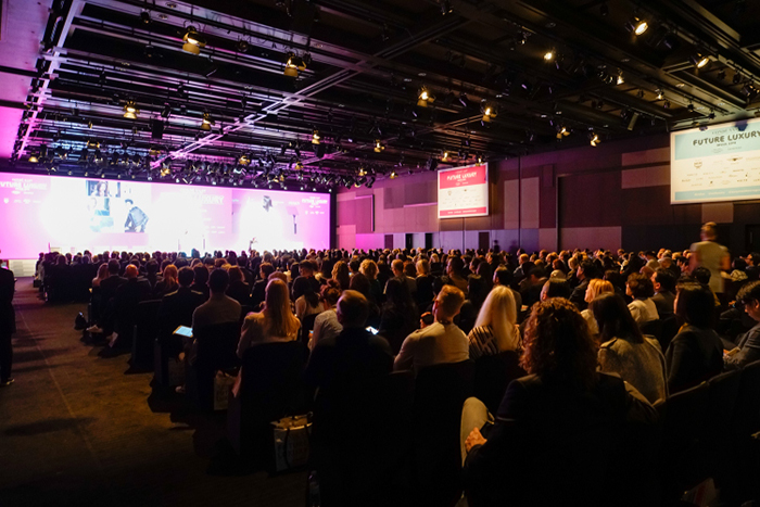 The future luxury conference by Sophie Hackford