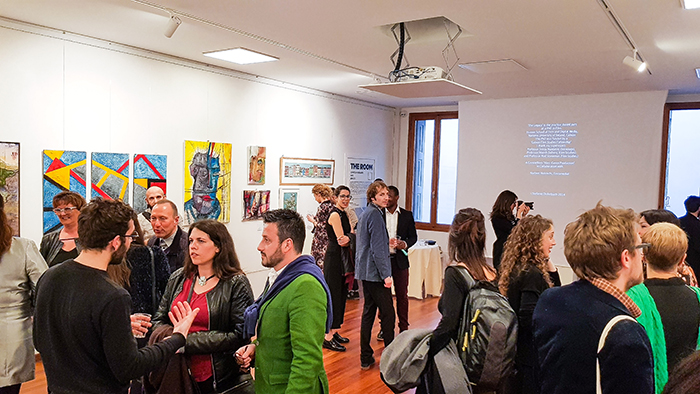 Feedback release: Opening -Visions - THE ROOM Contemporary Art Space