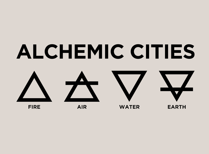 CALL FOR ARTISTS: ALCHEMIC CITIES | FIRE.AIR.WATER.EARTH 2018