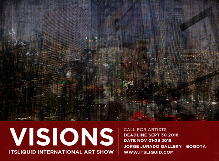 CALL FOR ARTISTS: VISIONS Bogota' 2018