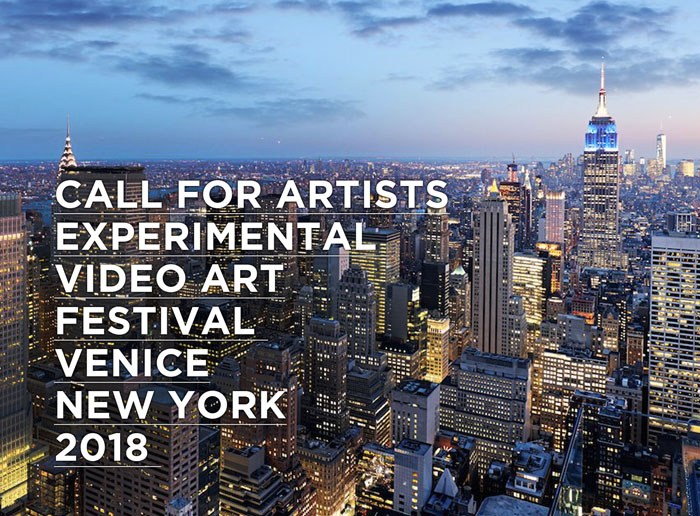 CALL FOR ARTISTS: EXPERIMENTAL VIDEO ART FESTIVAL 2018
