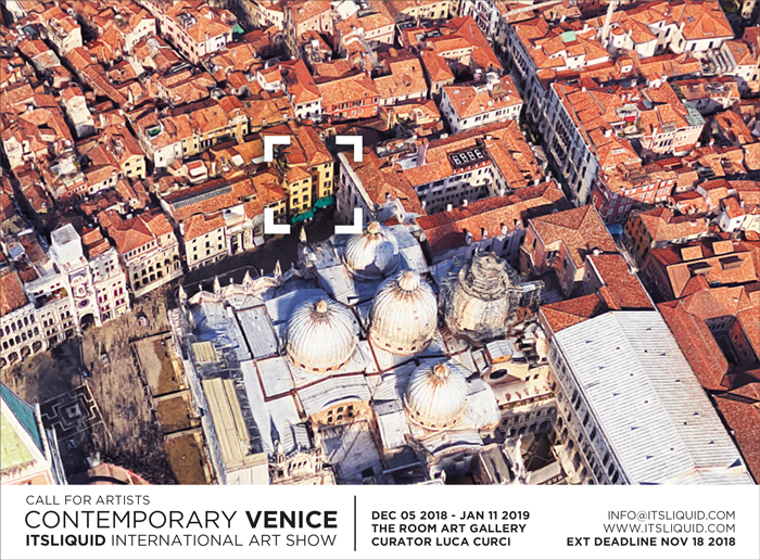 CALL FOR ARTISTS: CONTEMPORARY VENICE 2018 - THE ROOM