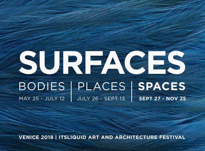 OPENINGS: SPACES - SURFACES FESTIVAL VENICE 2018
