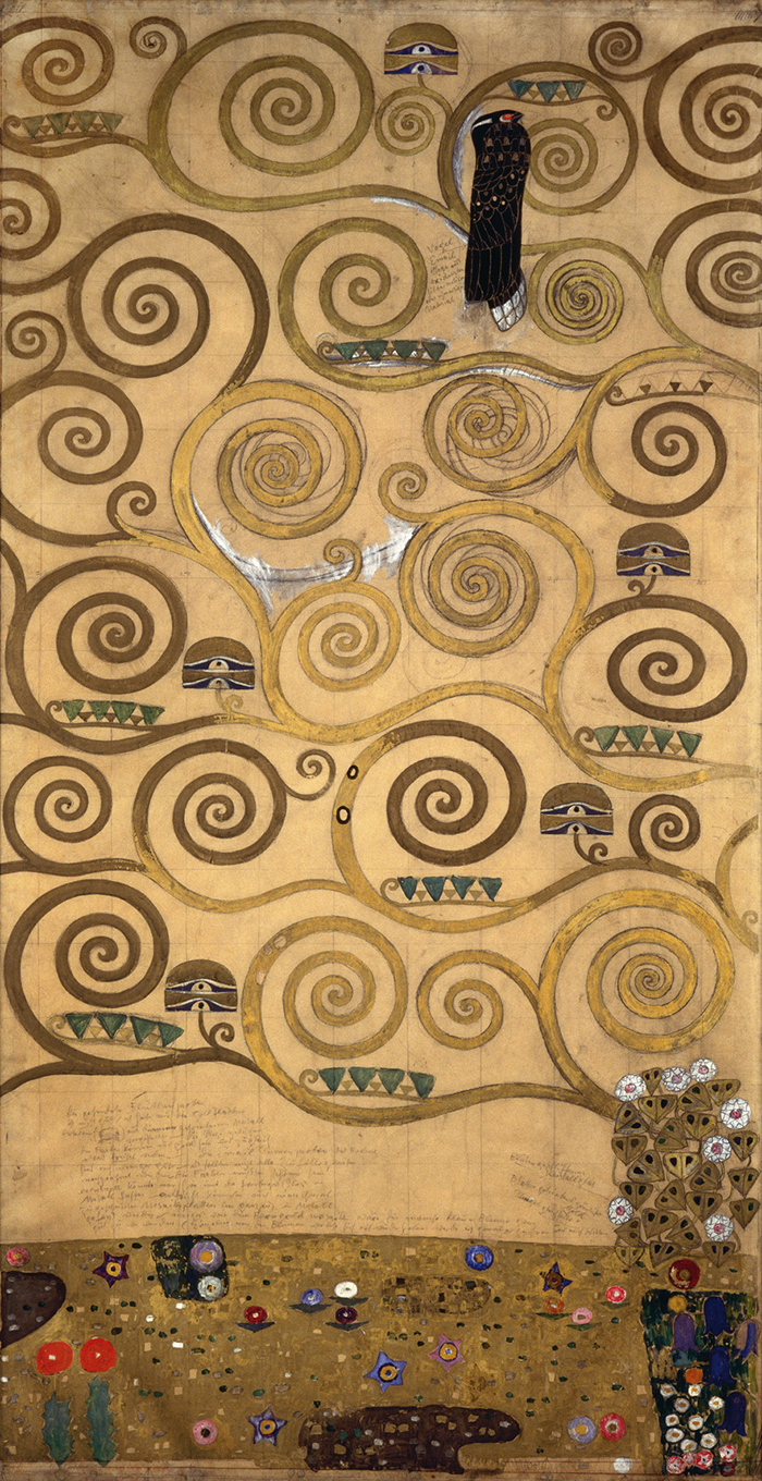 Klimt's Magic Garden