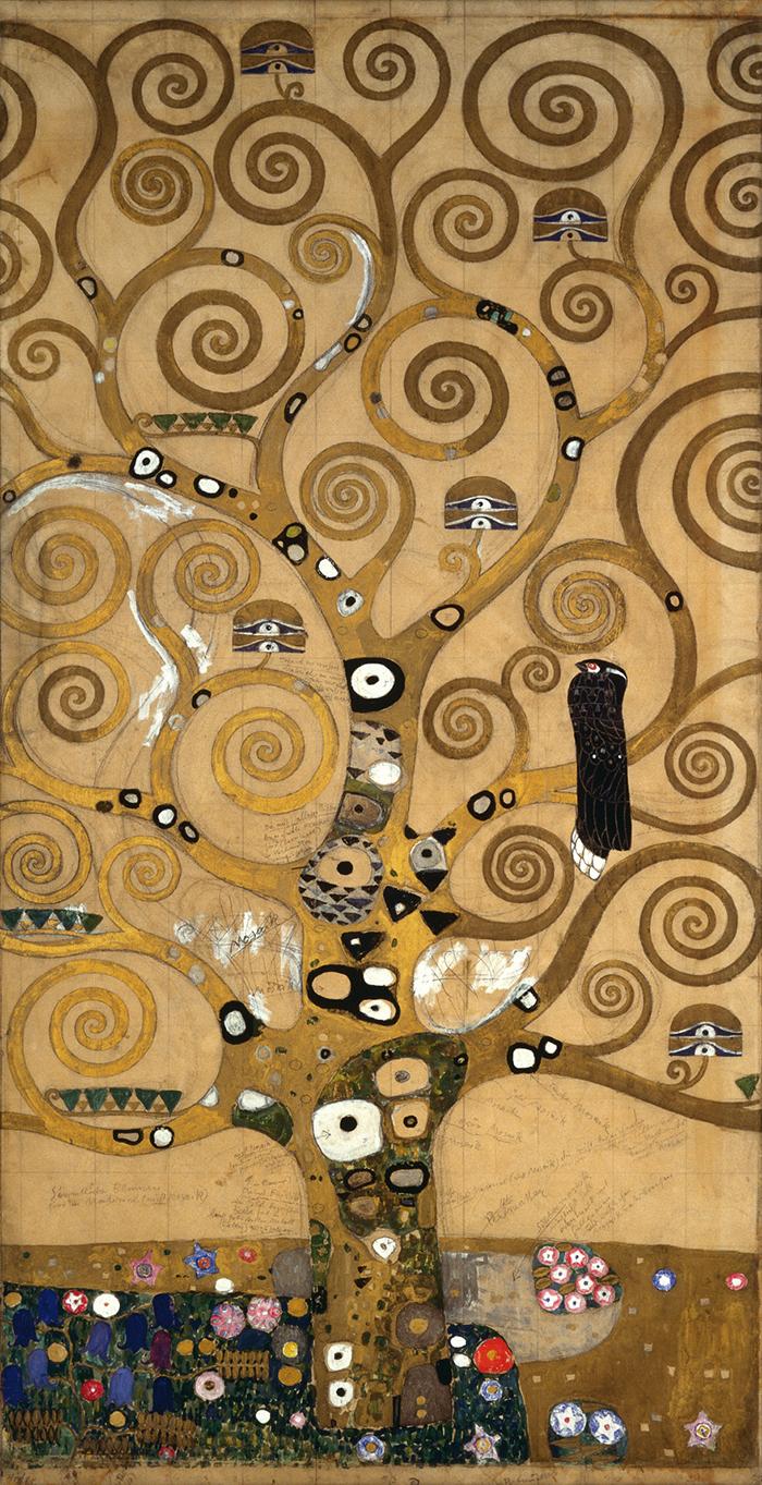 Klimt's Magic Garden