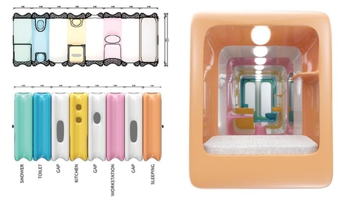 SLICE plug'n play urban living solution by Nasim Sehat