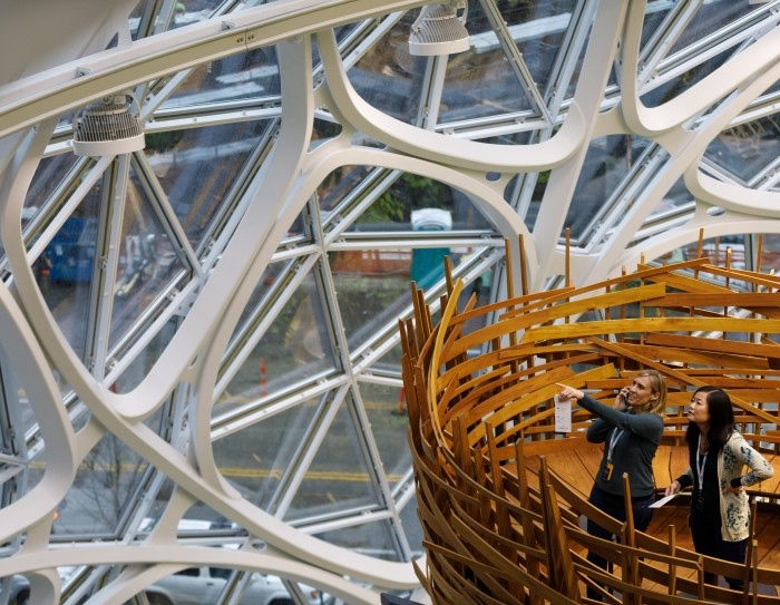 Amazon Seattle Spheres