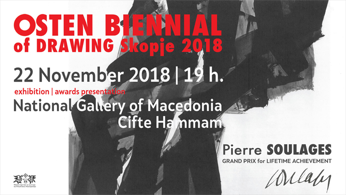 OSTEN BIENNIAL of DRAWING Skopje