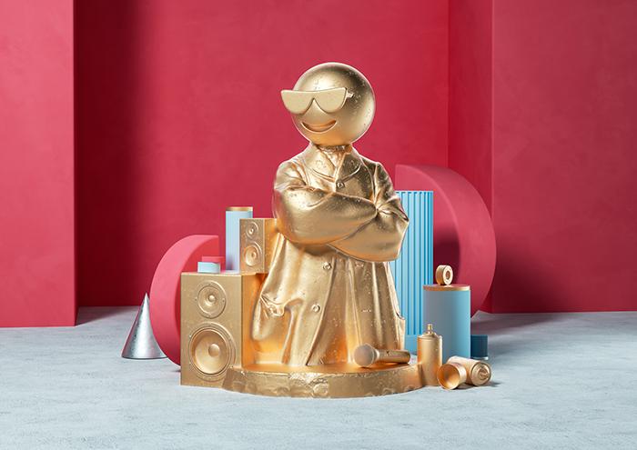 Ben Fearnley- Sculptmojis_Scene 05