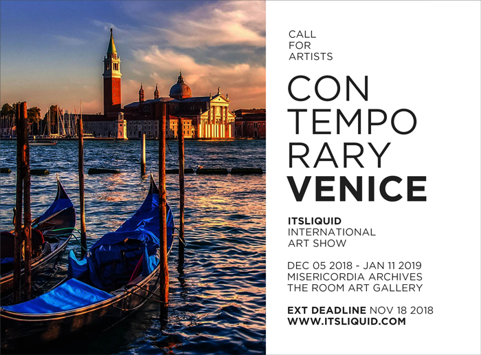 CALL FOR ARTISTS: CONTEMPORARY VENICE 2018