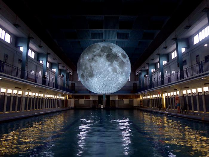 Luke Jeram- The Moon_Les Tombees De Les Nuit- Festival Rennes