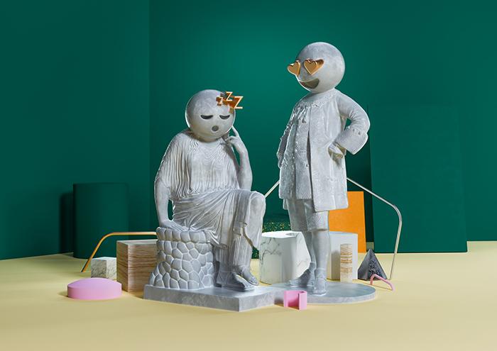 Ben Fearnley- Sculptmojis_Scene 02