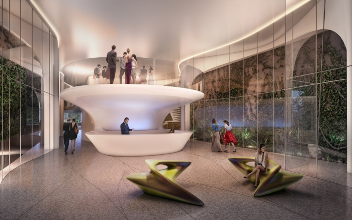 Casa Atlantica by Haha Hadid Architects