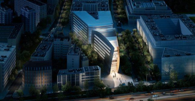 Colas Headquarters and Trigone Office Building