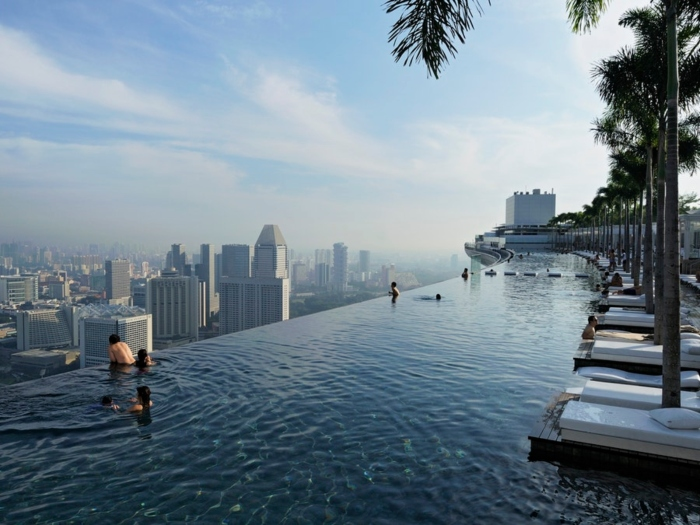 Marina Bay Sands - Hotel and SkyPark by Safdie Architects