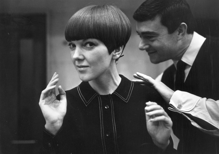 Mary Quant, photograph by Ronald Dumont, c.1967.
