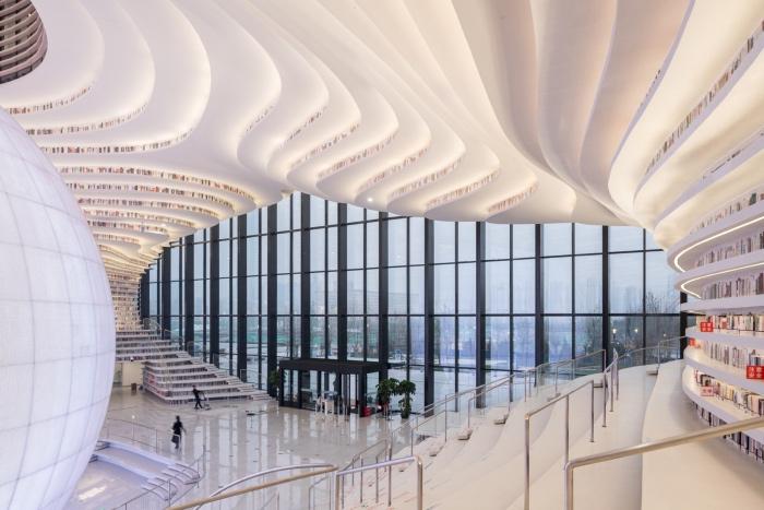 Tianjin Binhai Library - MVRDV