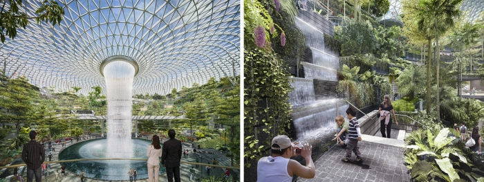 Jewel Changi Airport by Safdie Architects