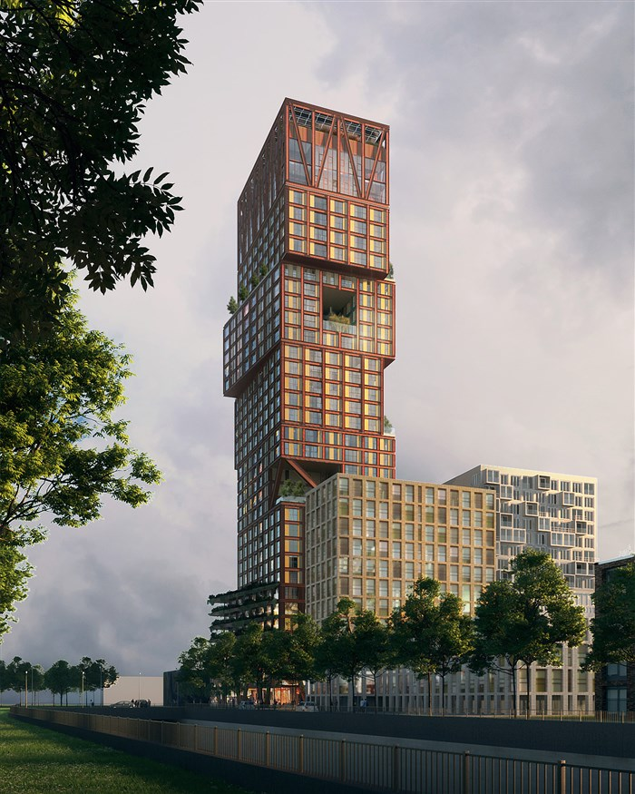 Binck Blocks - The Hague