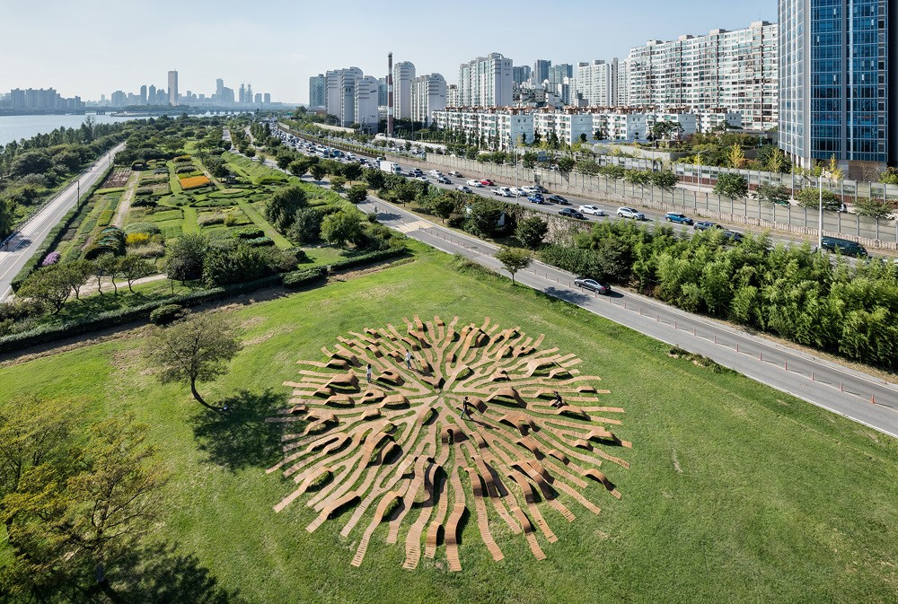 Root Bench by Yong Ju Lee Architecture