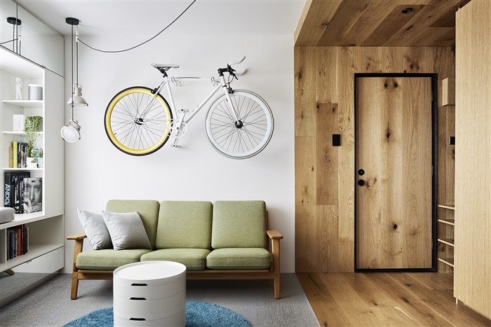 Type Street Apartment by Tsai Design