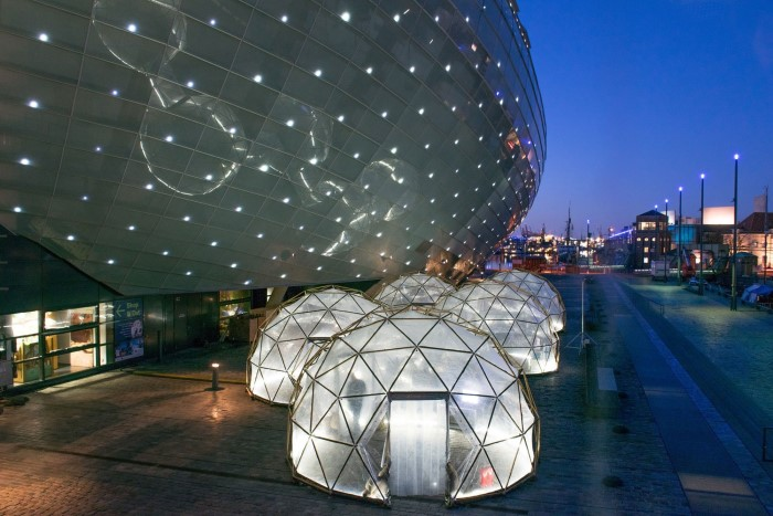 Pollution Pods by Michael Pinsky