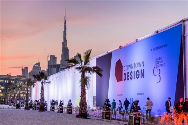 Image courtesy of Dubai Design Week
