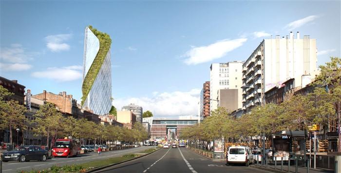 Occitanie Tower by Studio Libeskind