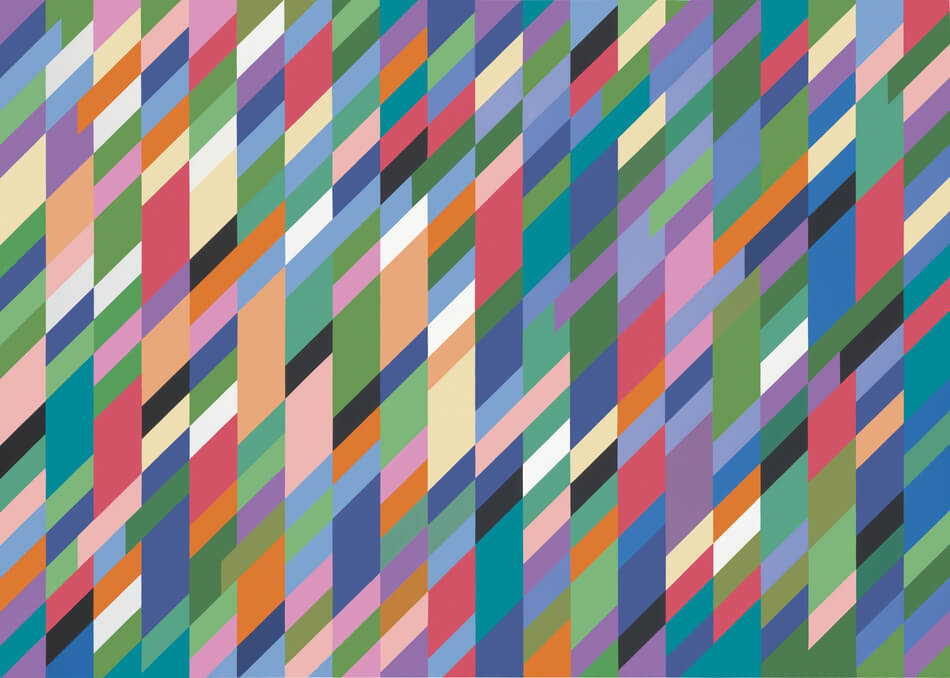 Bridget Riley High Sky 03