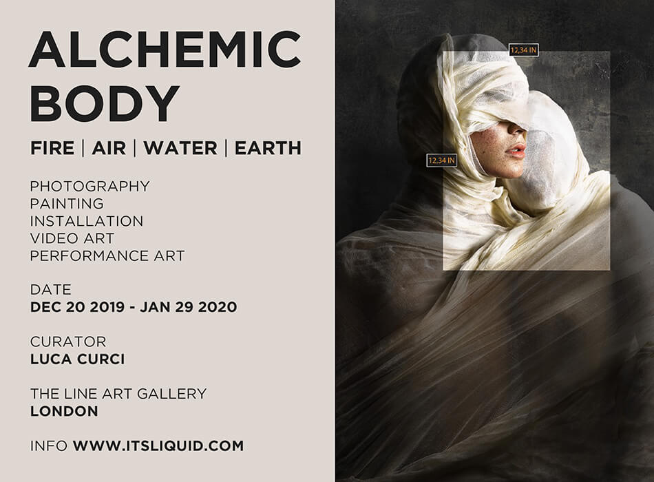 CALL FOR ARTISTS: ALCHEMIC BODY | FIRE . AIR . WATER . EARTH 2019
