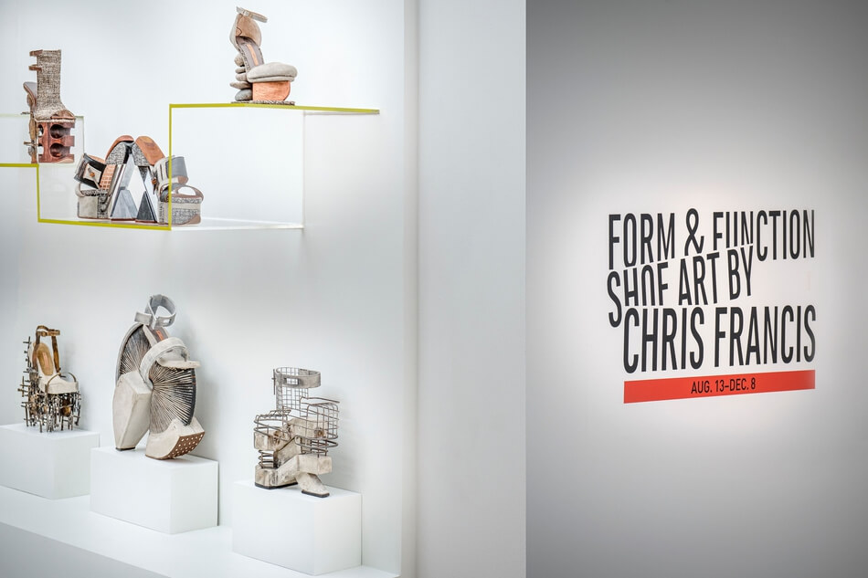 FORM & FUNCTION: SHOE ART BY CHRIS FRANCIS