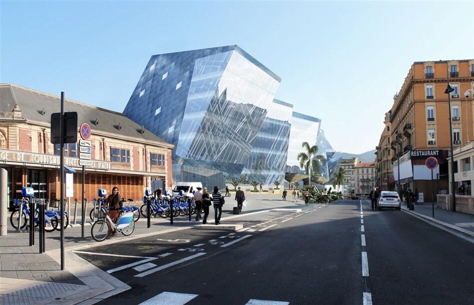 "Studio Libeskind - ""Gare Thiers-Est"""